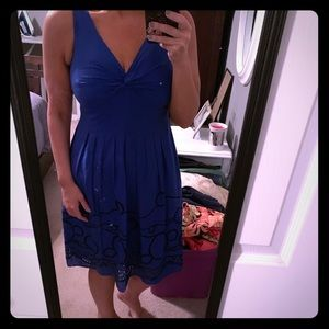 Evan-Picone dress size 10 Deep Royal blue